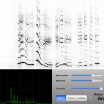 Spektrogram på iPad og iPhone